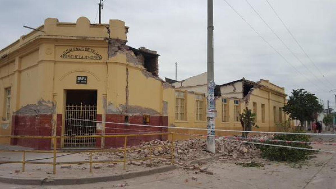 Escuela en El Galpón
