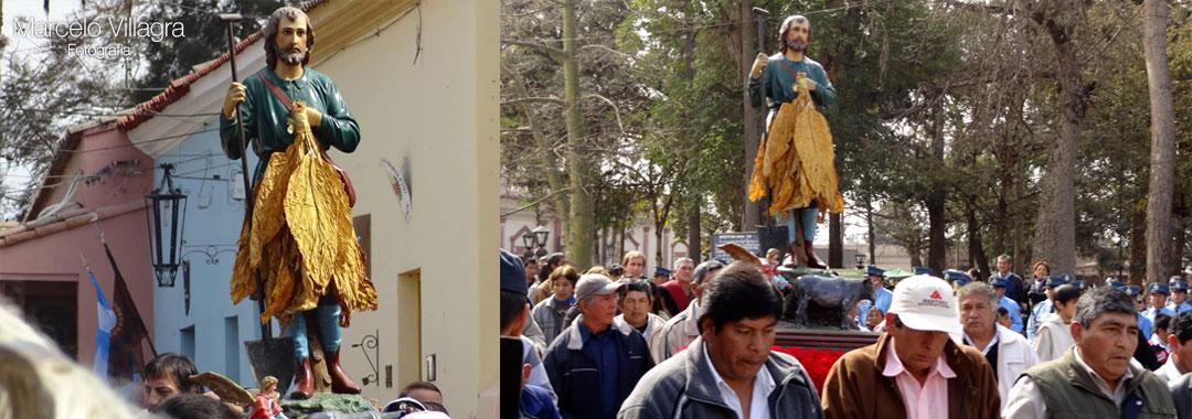 Chicoana: San Isidro Labrador en la Fiesta del Tabaco