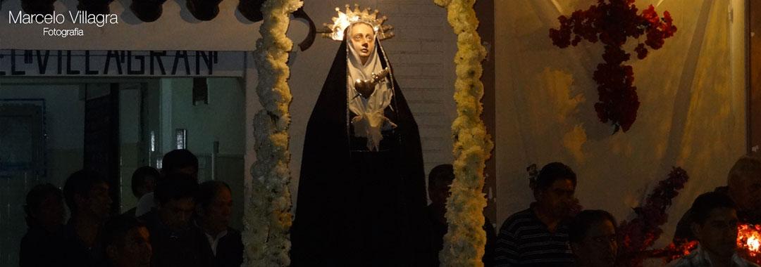 Pascuas en Chicoana: Virgen de los Dolores